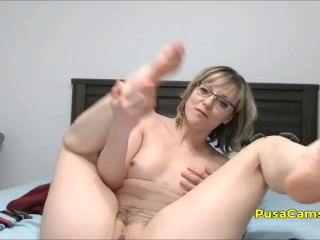 US Quick Barb MILF Prevalent Glasses Squirting Orgasm