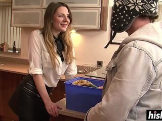 Larder blowjob respecting naughty Samantha Bentley